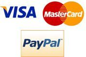 make payment via visa, master or paypal.