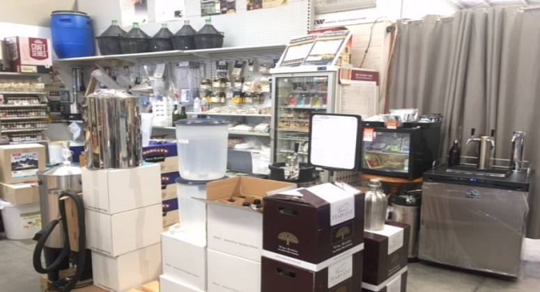 Bar Equipment And Home Brewing Supplies Business For Sale