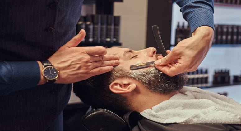 Long Established Barber Shop Business For Sale