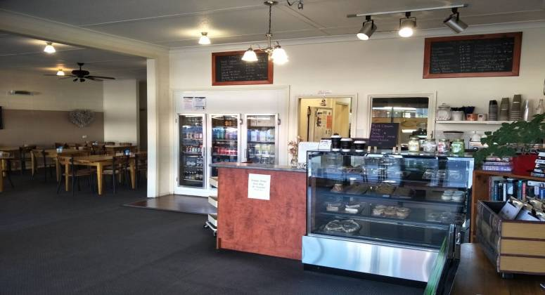 Cafe and Takeaway Business for Sale with double frontage shop
