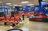 Bowling Alley with Entertainment Area