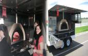 Brand new Mobile Wood Fired Pizza Trailer. You like Pizza? You like Money? Its a match made in heaven!