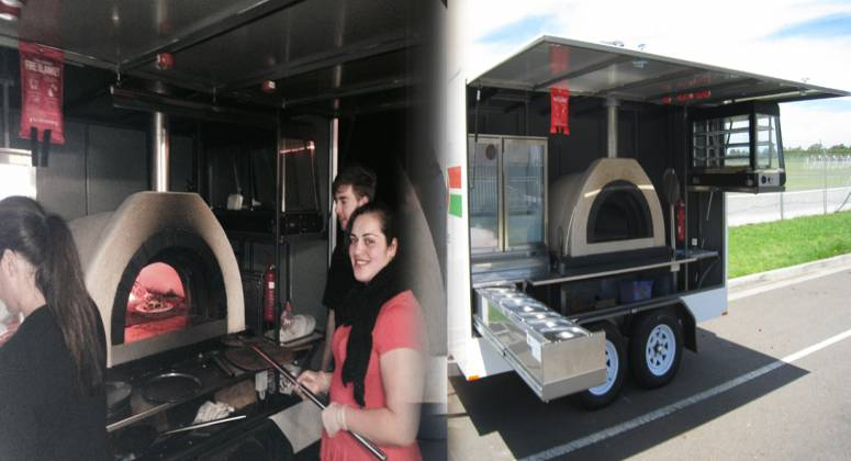Brand New Mobile Wood Fired Pizza Trailer You Like Money Its A Match Made In Heaven